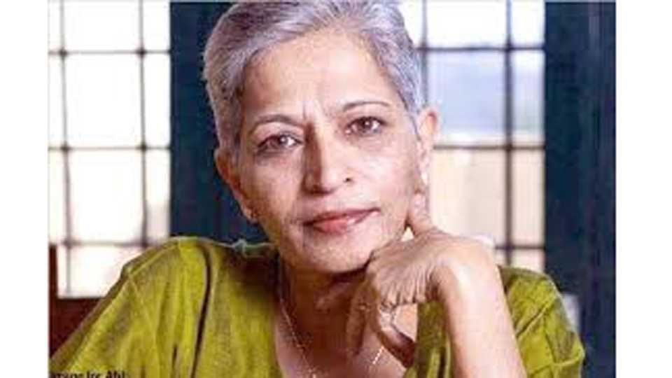 Gauri Lankesh Murder Case one suspect arrested