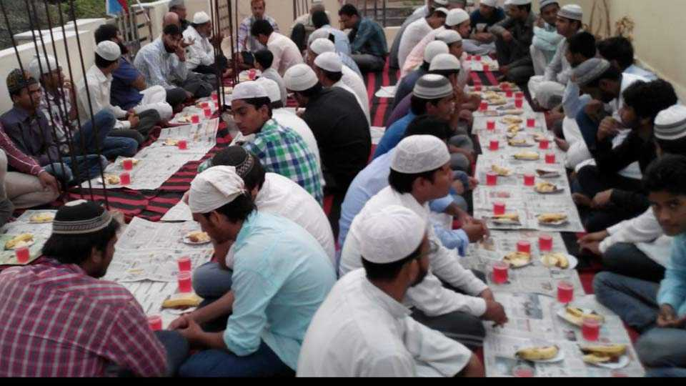 Cow Milk, milk products-only iftars by RSS Muslim wing in UP