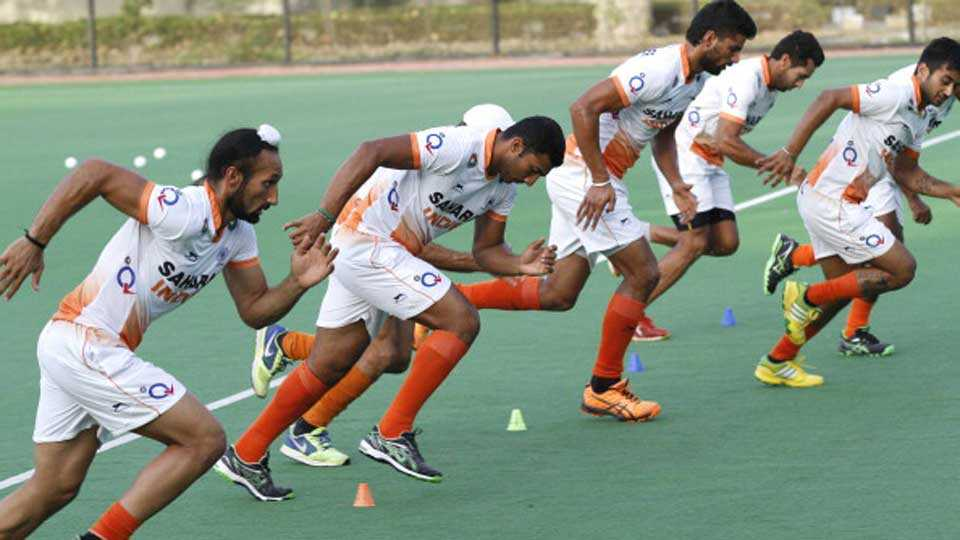 Hockey practice begins for Asian Games