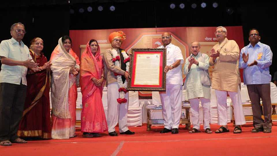 Sharad Pawar attends book publication programme