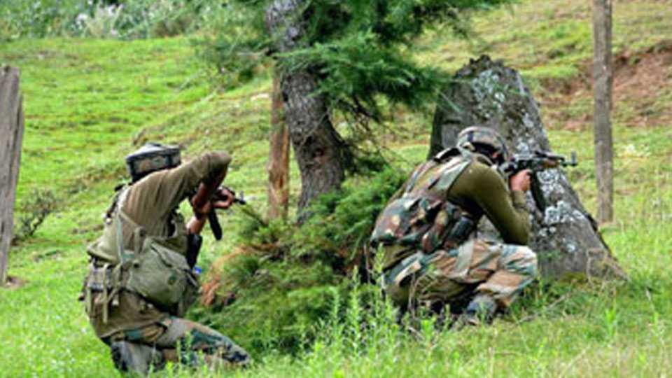 Two terrorists killed in Kashmir's Sopore