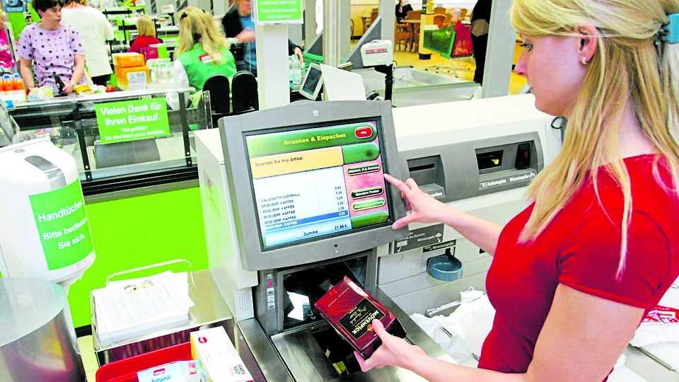 Self service kiosk in billing!