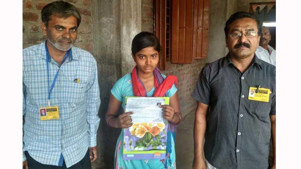 marathi news marathwada scholar girl father passes away exam