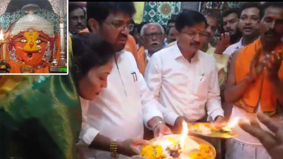 marathi news nanded news arjun khotkar renukadevi mahu news