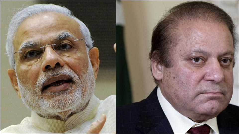Narendra Modi - Nawaz Sharif