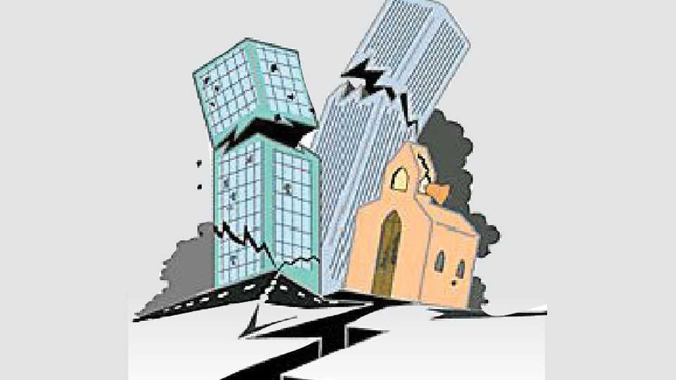 nagpur dangerous building