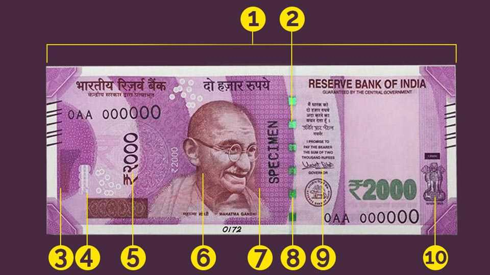 2000 rs notes