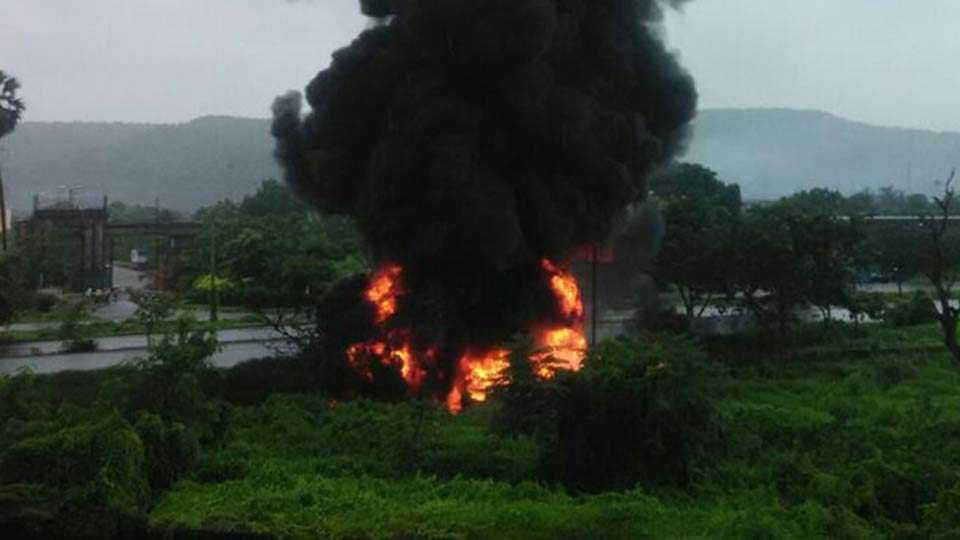 petrol tanker blast