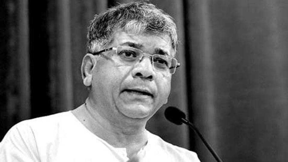 prakash ambedkar criticised narendra modi in kolhapur