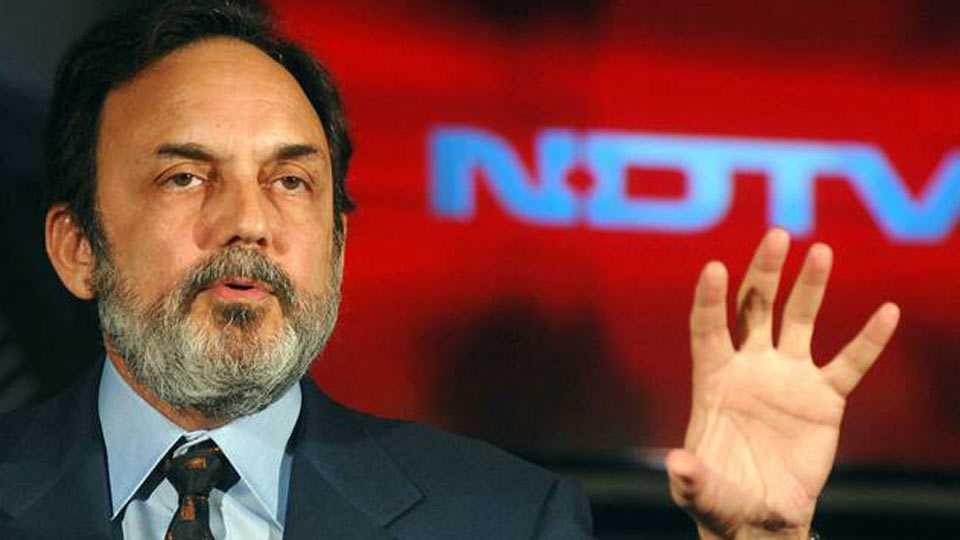 CBI raids residence of NDTV founder Prannoy Roy in Delhi and Dehradun