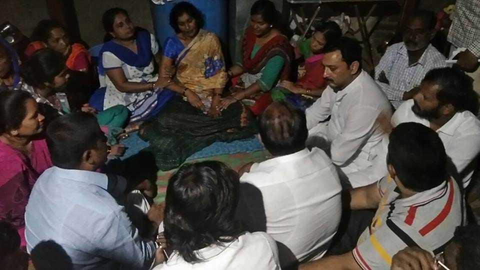 Chatrapati Sambhaji Raje visit gholap family
