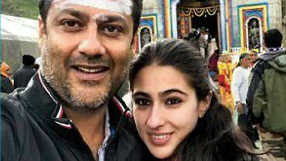 Sara Ali Khan Spotted In Kedarnath For Recce Of Her Debut Film
