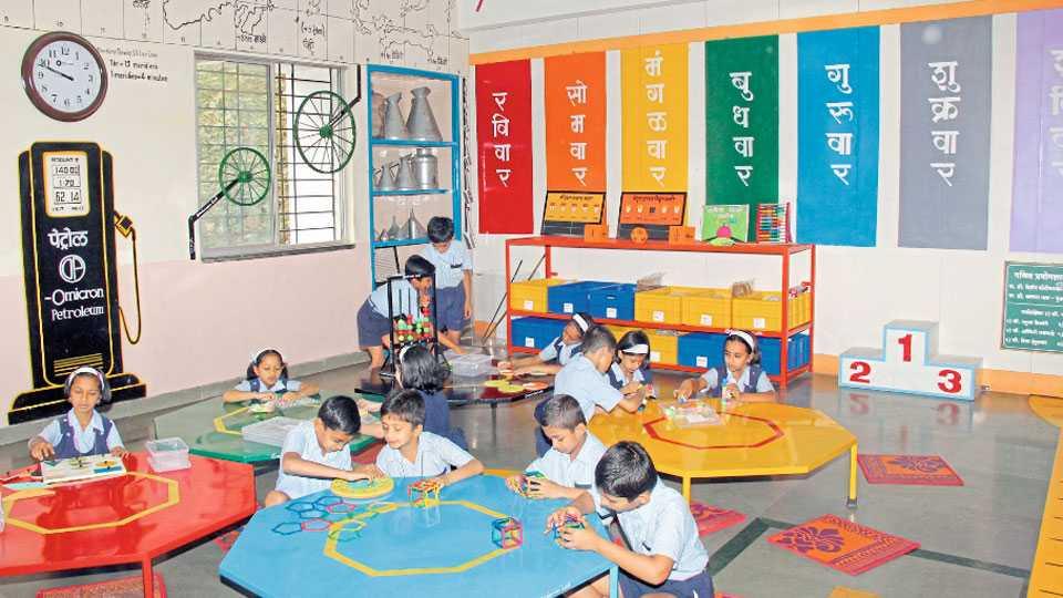 shaniwarpeth school
