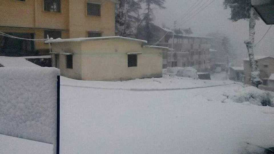 Shimla, Manali Cut Off After Snow, Traffic Hampered, Electricity Lines Snapped