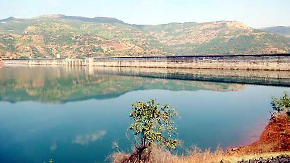 Temghar dam water capacity