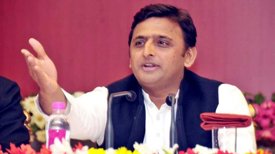 In UP Fear Situations says Akhilesh Yadav