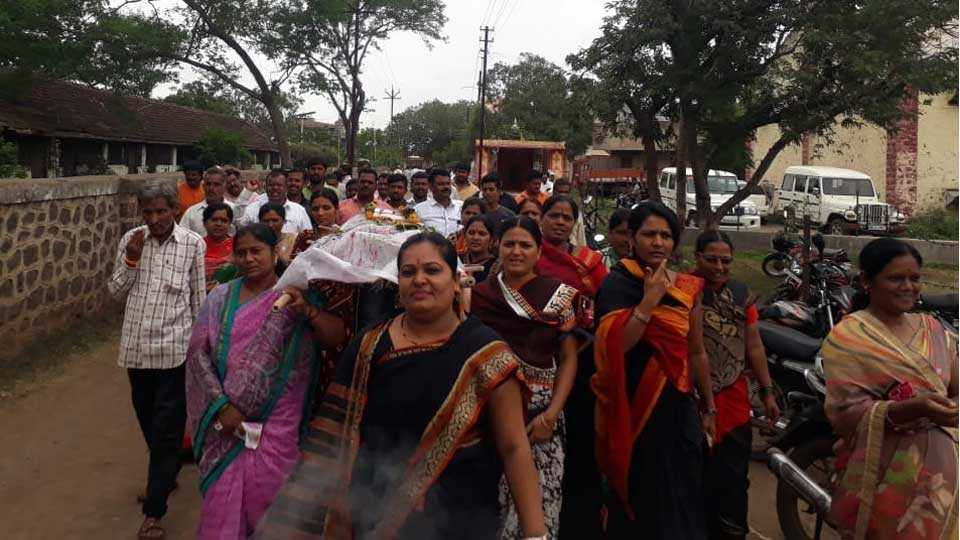 Women's participation increased in Maratha agitation