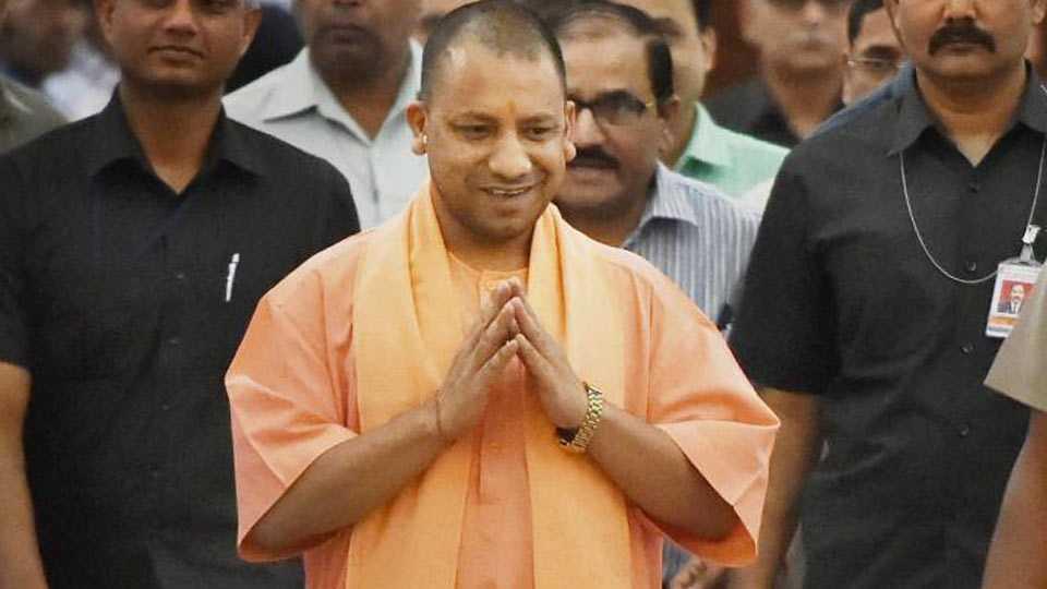 up chief minister yogi adityanath visits ayodhya