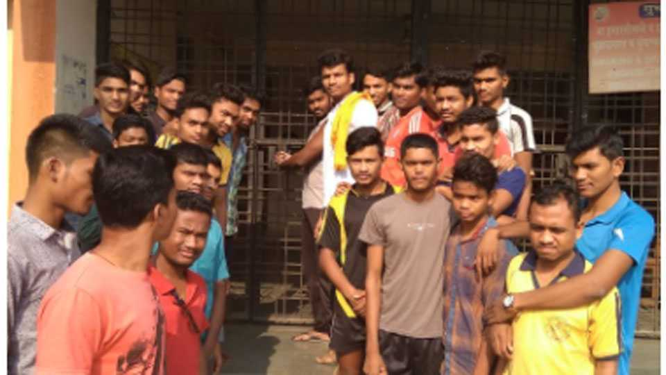 adivasi students lockup movement