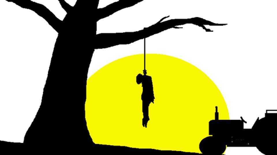 a farmer Suicide in Jambha