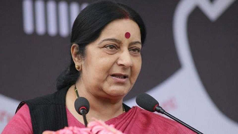 Sushma Swaraj's plane went incommunicado for 14 minutes on way to Mauritius