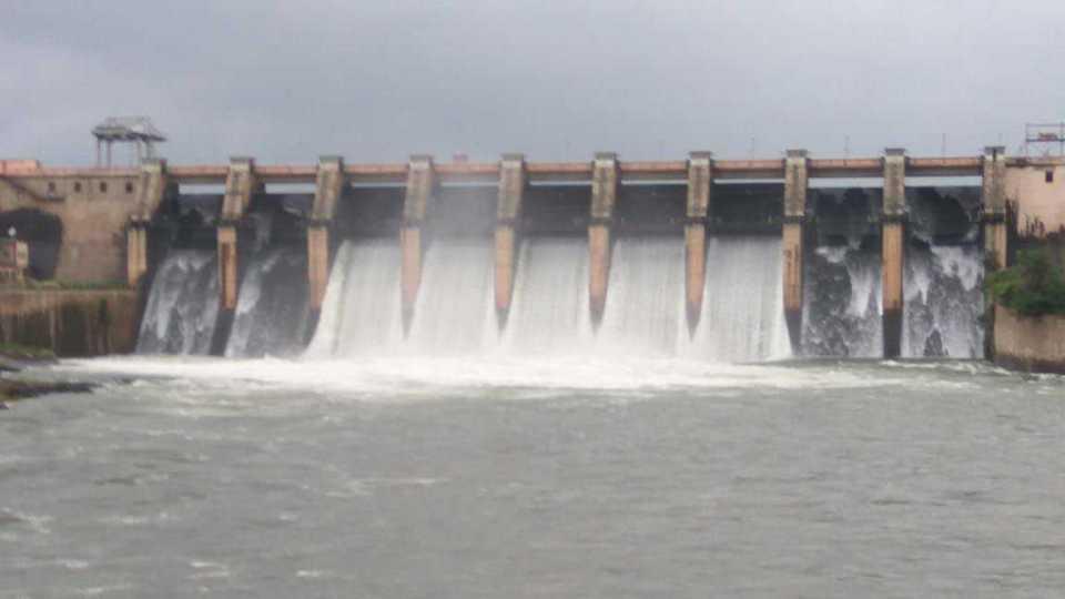 Dam full on neera river