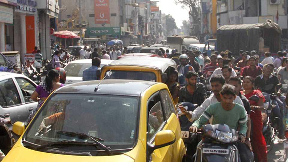 traffic jams in pimpri
