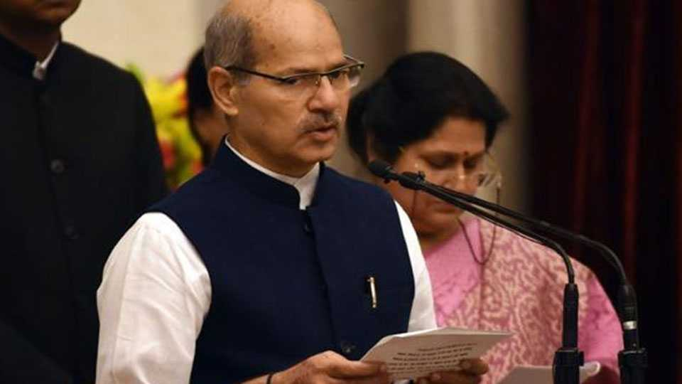 Anil Madhav Dave is no more