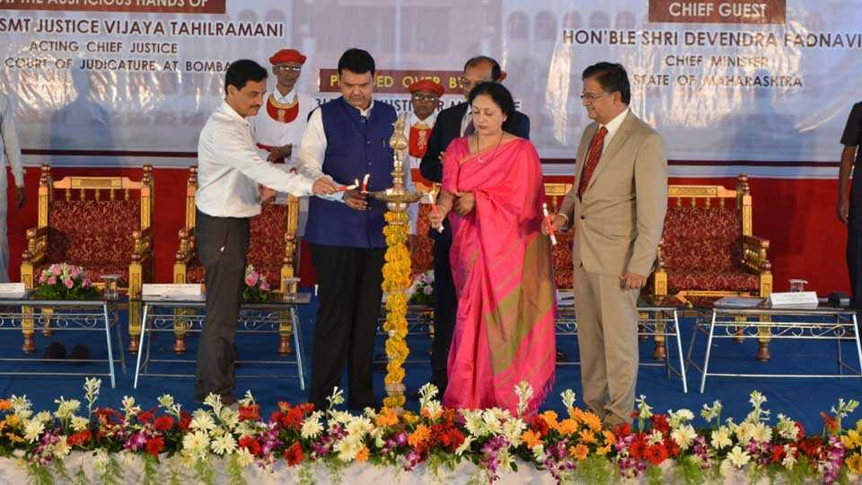 Will Provide infrastructure for justice says CM fadnavis