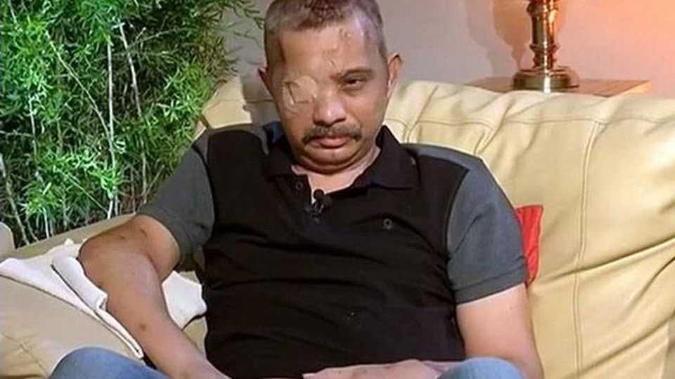 National News Shot 9 times by terrorists CRPF commandant Chetan Cheetah