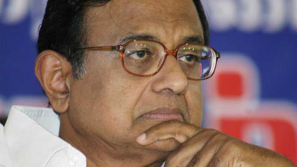 CBI raid homes of ex-finance minister P Chidambaram, son Karti