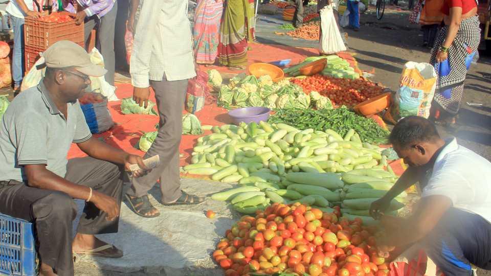 Representational image of farmers strike