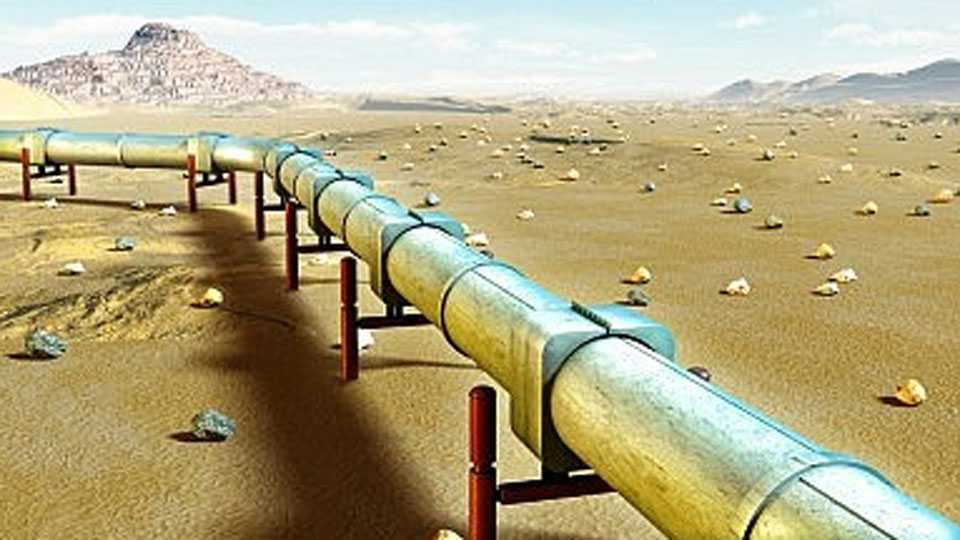Gas-Pipe-Line
