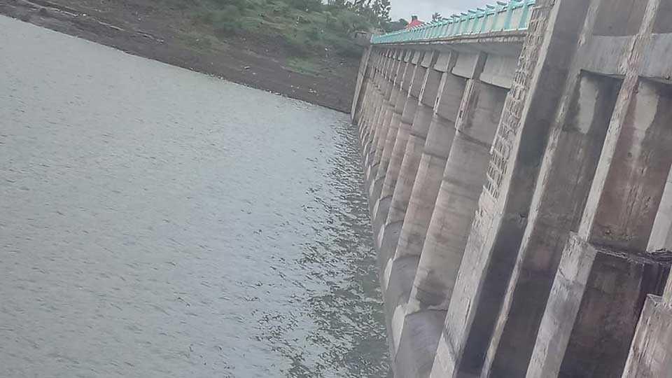 Girna dam filled 17 percent
