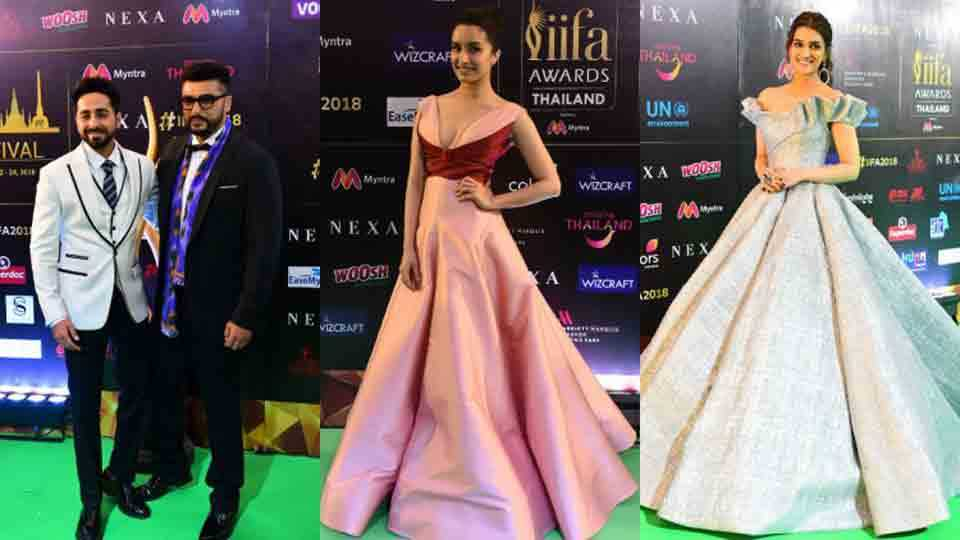 IIFA award 2018 at bangkok thailand