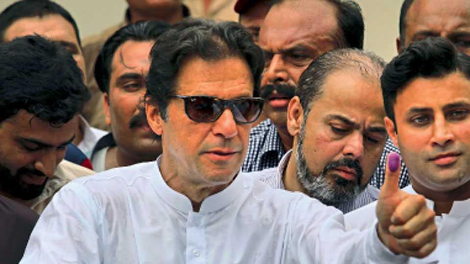 Imran Khan sworn in on 14th