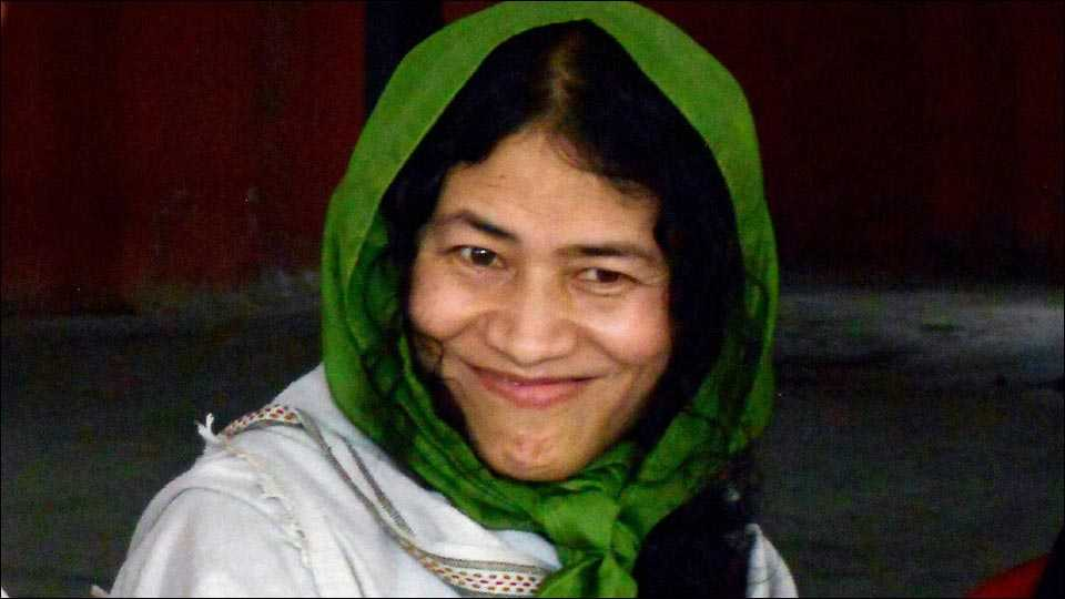 Irom Sharmila to marry her British partner in Tamil Nadu in July