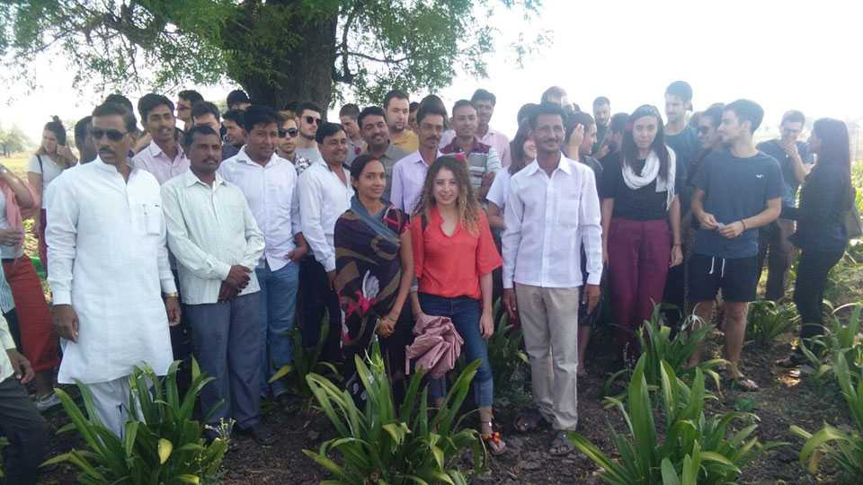 foreign students has studied Agriculture Study Khan Patta