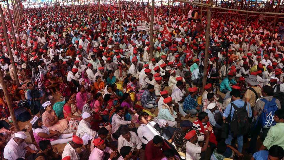 Kisan Long March at Mumbai