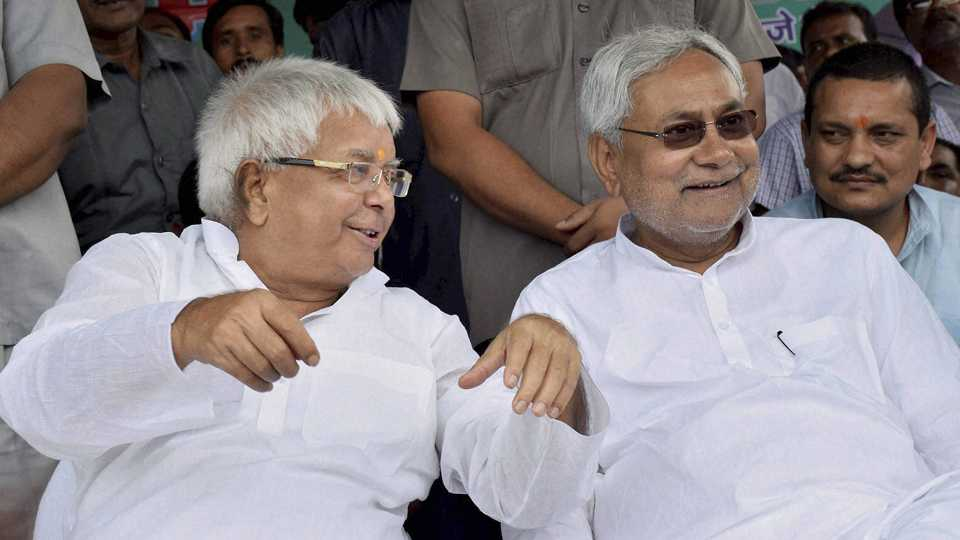 File photo of Lalu Prasad Yadav and Nitish Kumar