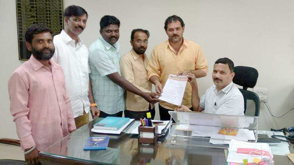 MNS's request for permanent Tehsildar appointment