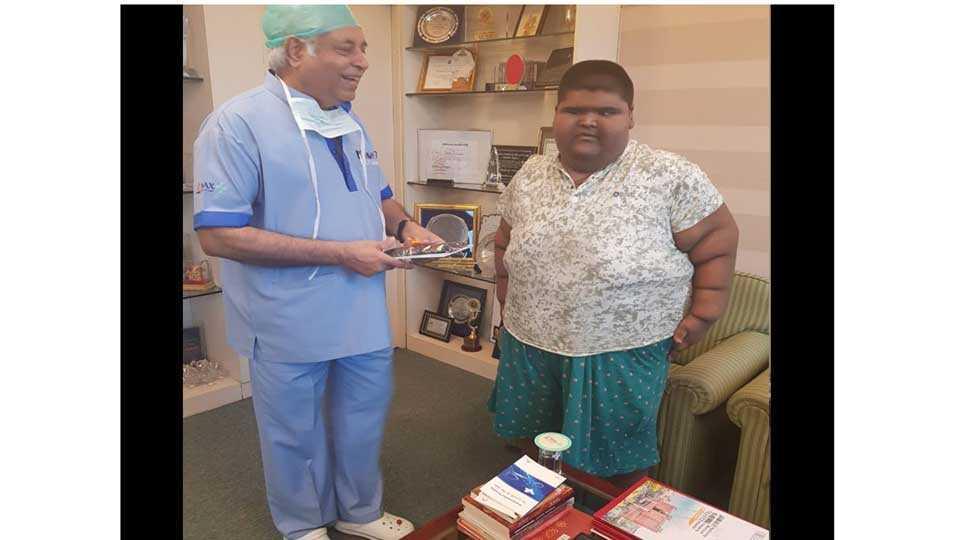 Doctors operate on 237 kg Delhi boy