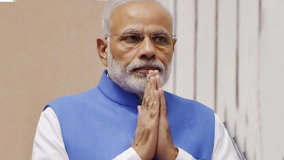 Modi will on Shrilanka tour from 11 May