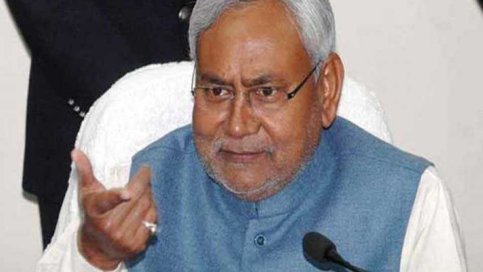 Nitish Kumar lalu yadav bjp politics marathi news sakal news