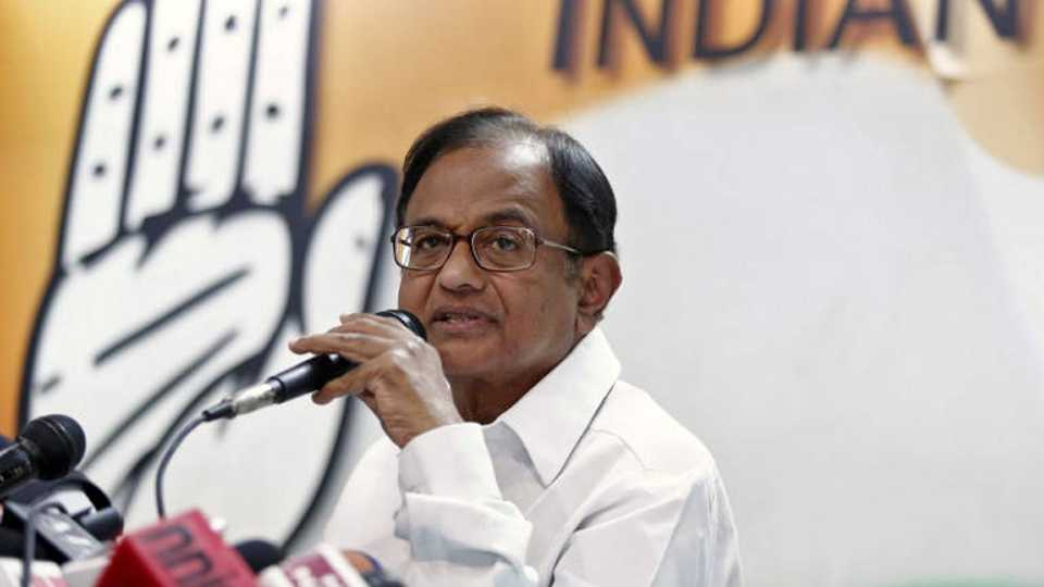 Govt can cut petrol prices by up to Rs 25 says Chidambaram