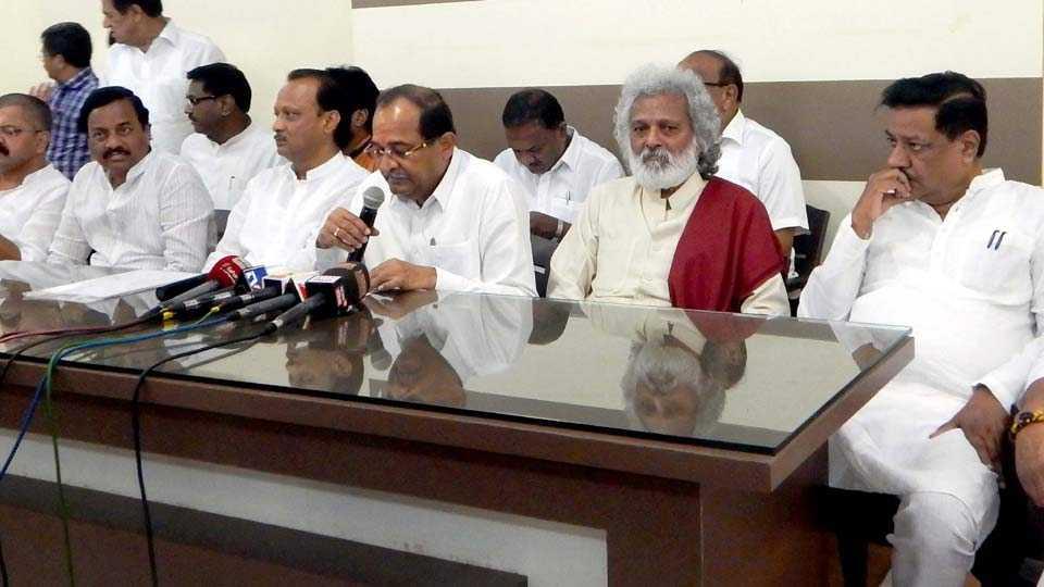 balasaheb Vikhe Patil demands farmers loan waivers