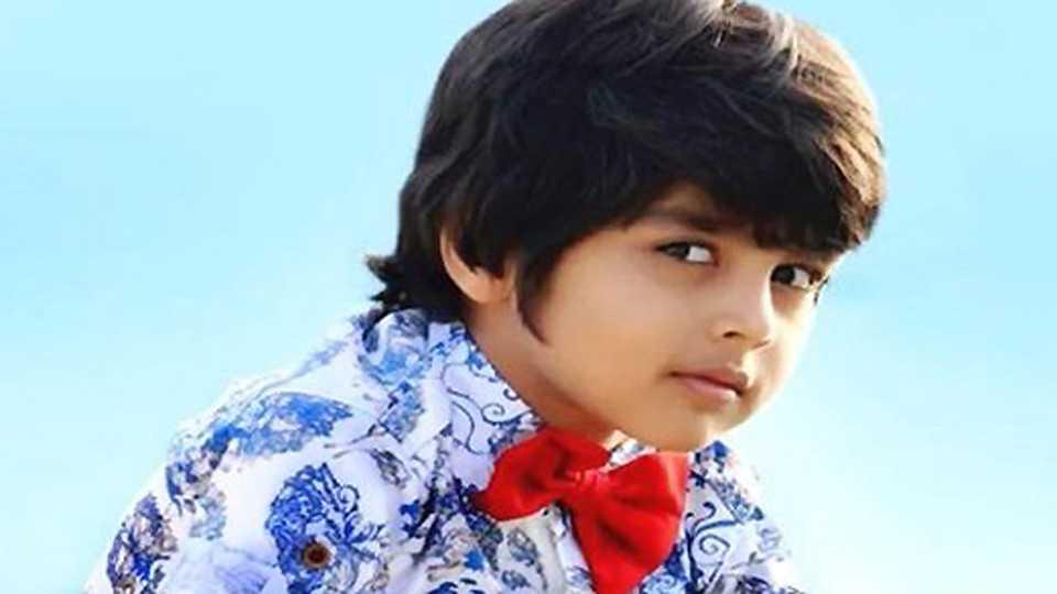 Child actor Ricky Patel