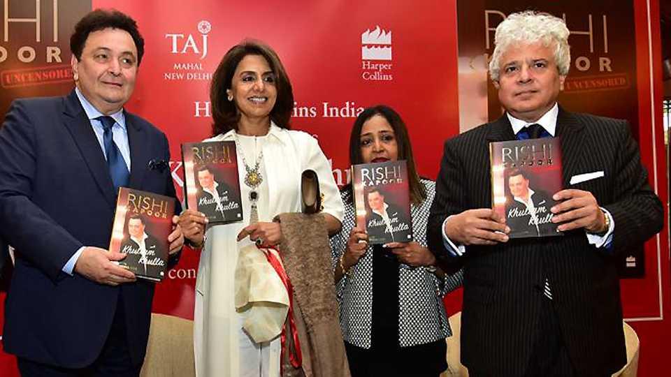 Rishi Kapoor Launches His Autobiography Khullam Khulla