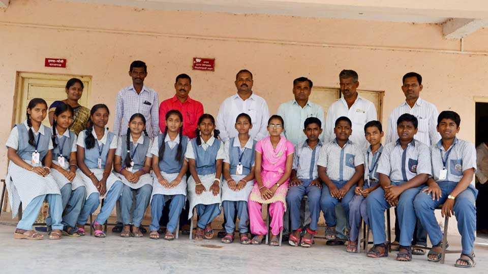 Students in Karmayogi Vidyalaya are on the merit list