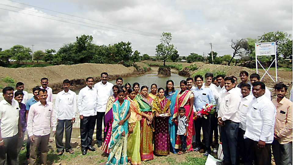 Supriya Sule appreciates water conservation